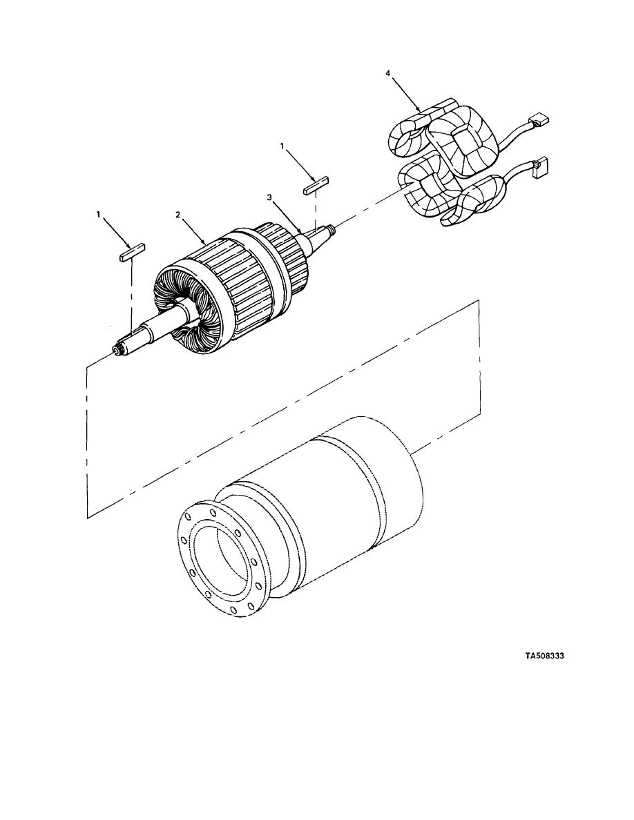 Figure 53 Drive Motor Armature Assembly 3930 Starter Wire Diagram