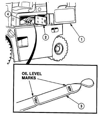 Engine Oil Level Check And Service